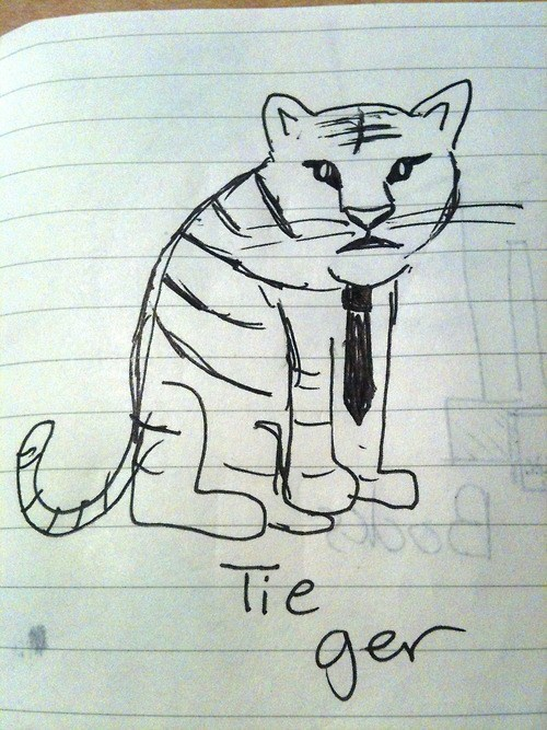 tie tiger prefix homophone - 7080729600