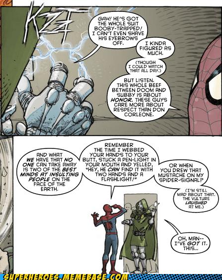 Spider-Man human torch pranks dr doom - 7080812032