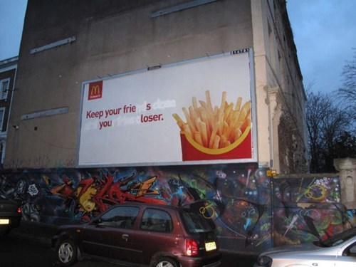 advertisement billboard graffiti - 7080862720