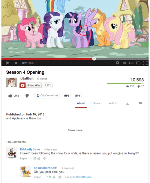 alicorn twilight,youtube,season 4