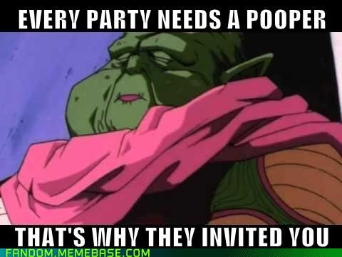dende party poopers Dragon Ball Z cartoons - 7081012736
