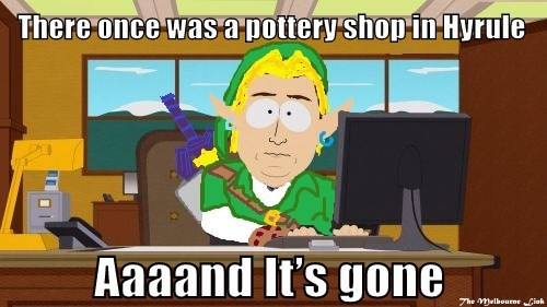 pottery shop meme zelda - 7081267200