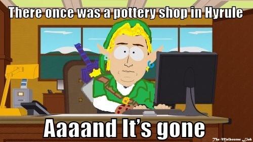 pottery shop meme zelda - 7081267200