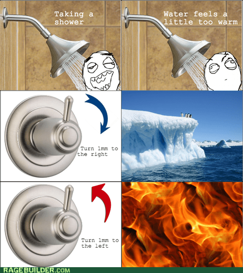 too hot shower too cold temperature - 7081552128