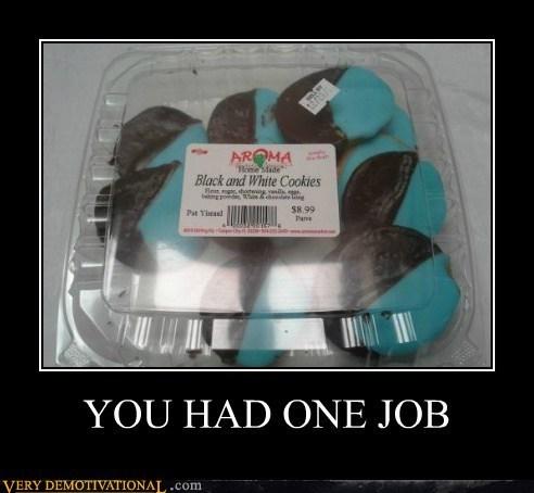 black & white baker cookies - 7082359296