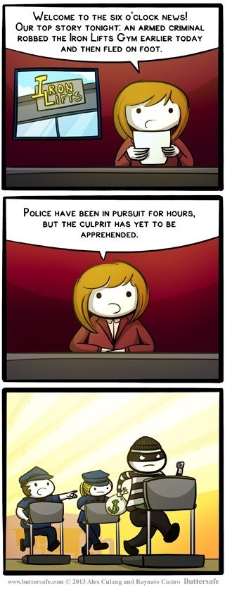 pursuit news comic - 7082529024