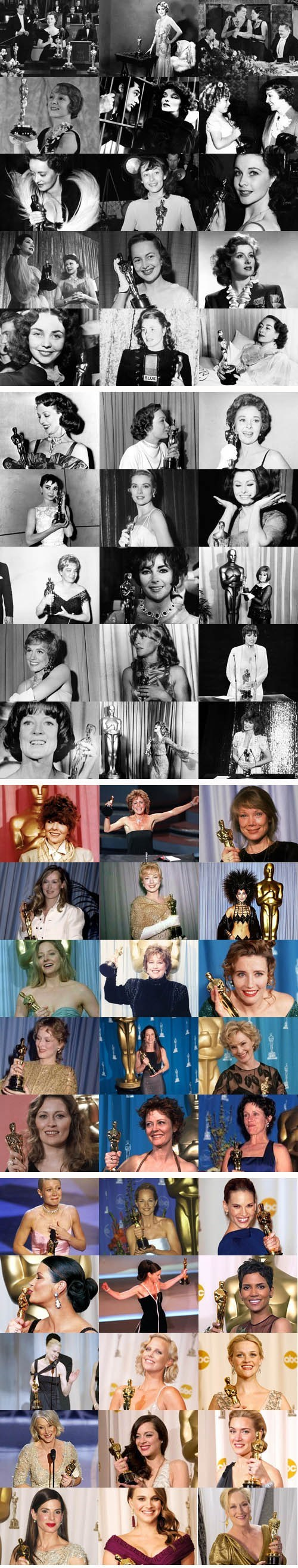best actress academy awards oscars