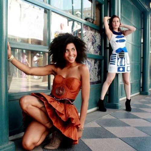 dresses,r2d2,C3PO,star wars