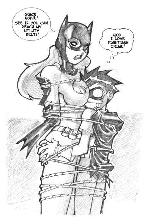 Sexy Ladies art robin batgirl - 7082872832