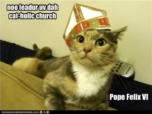 Pope Felix VI noo leadur uv dah cat-holic church