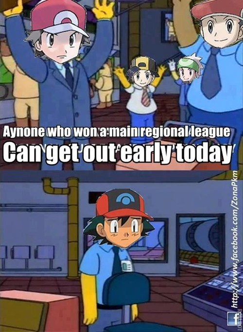 ash pokemon league orange islands the simpsons - 7083799808