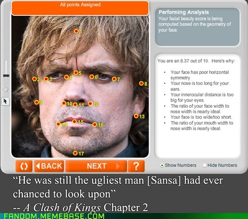 anaface Game of Thrones tyrion lannister - 7083850240