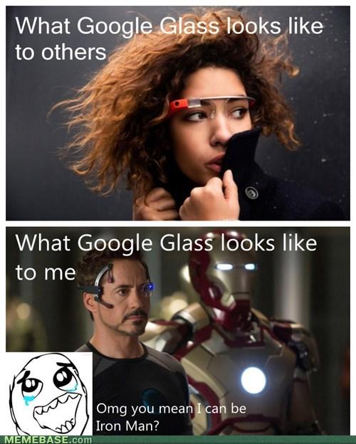 expectations vs reality iron man google glass - 7084470016