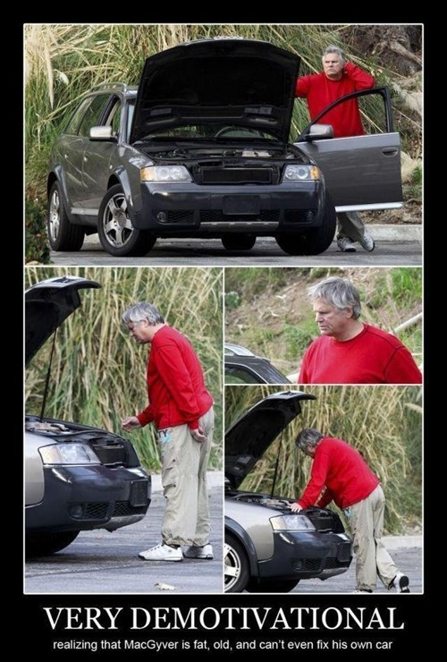 car trouble,macgyver