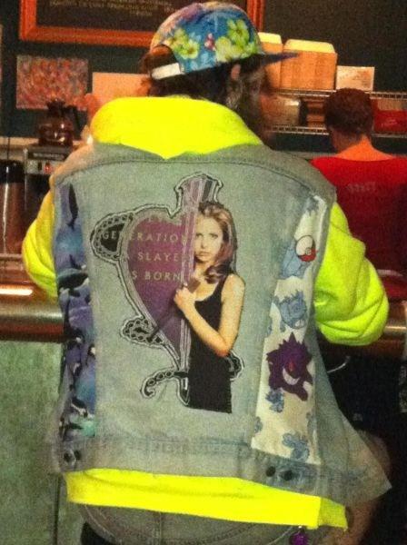 jean jackets homemade clothes Buffy the Vampire Slayer - 7085540864