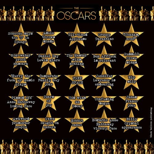 academy awards oscars bingo after 12 g rated - 7085572096