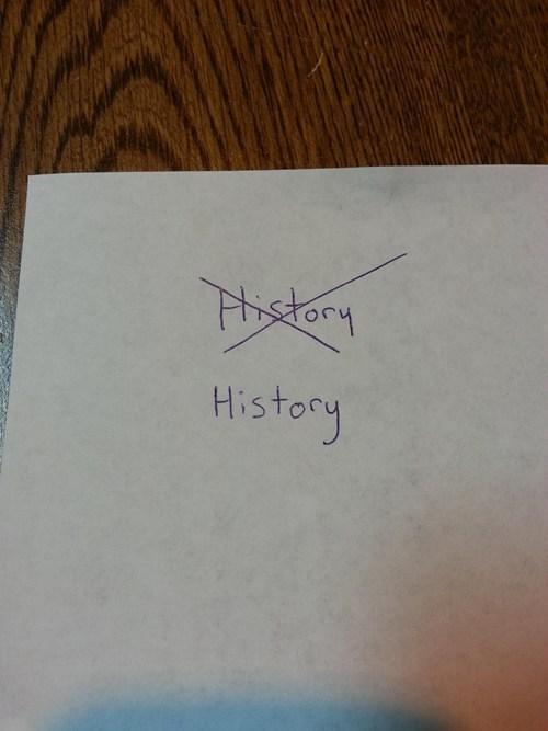 history rewrite literalism - 7085693952
