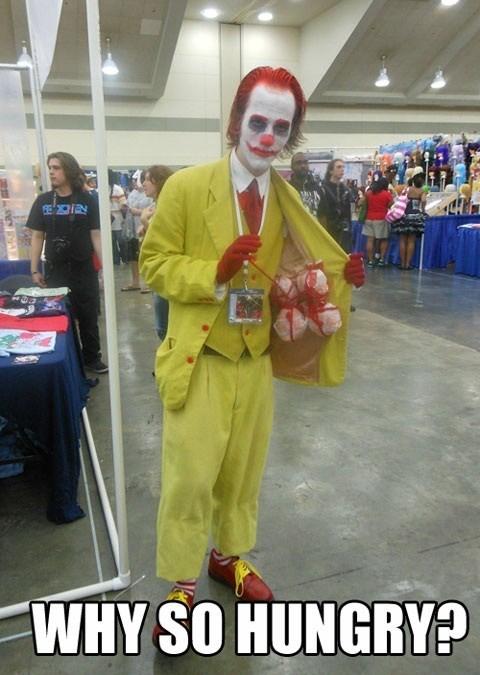 crossover cosplay McDonald's the joker batman - 7085736192