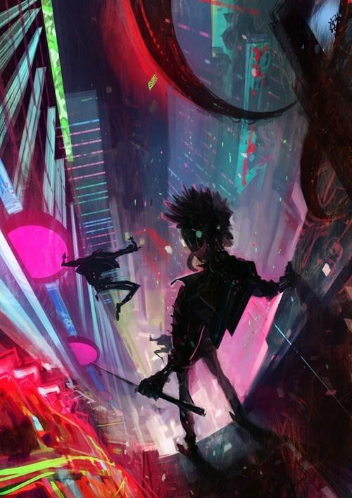 art cyberpunk - 7085749504