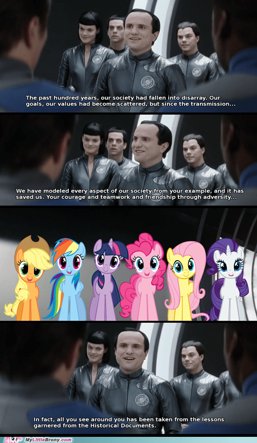 comic mane six galaxy quest - 7085766656