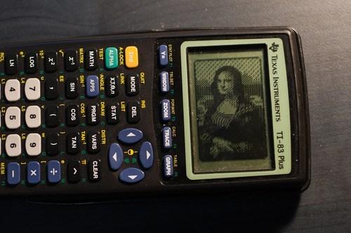 mona lisa art calculator math - 7085934848