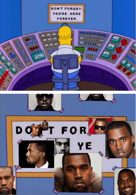 Music,TV,kanye west,the simpsons