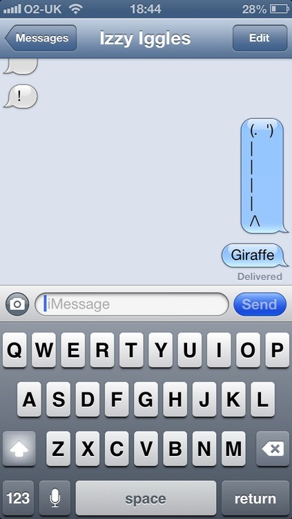 not good enough,iPhones,giraffes