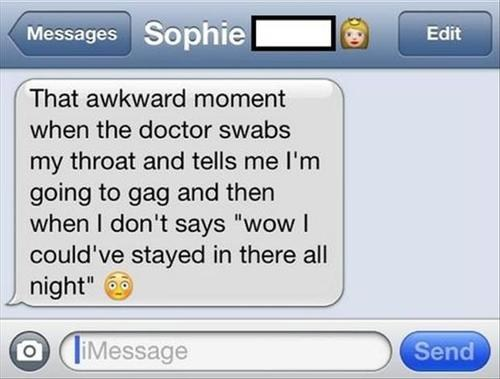 gagging iPhones Awkward g rated AutocoWrecks - 7086224896
