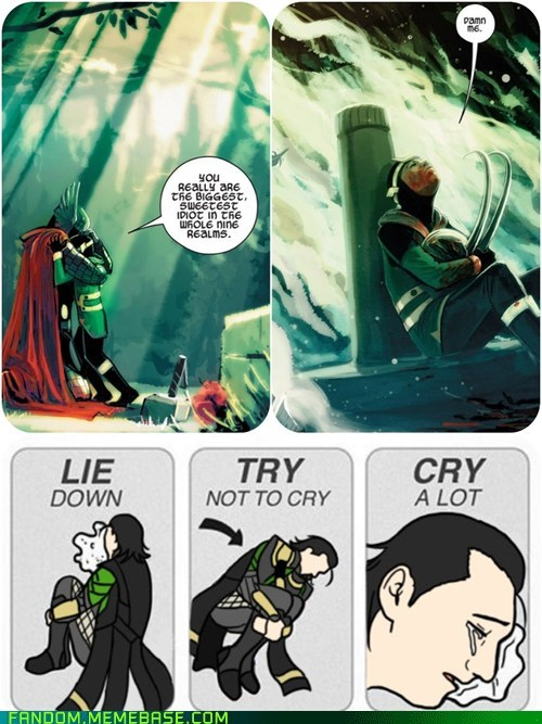 loki try not to cry The Avengers - 7086272000
