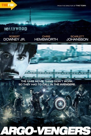 mashup argo poster The Avengers - 7086277632