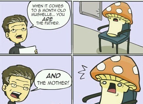 dna tests comics Mushrooms - 7086314752