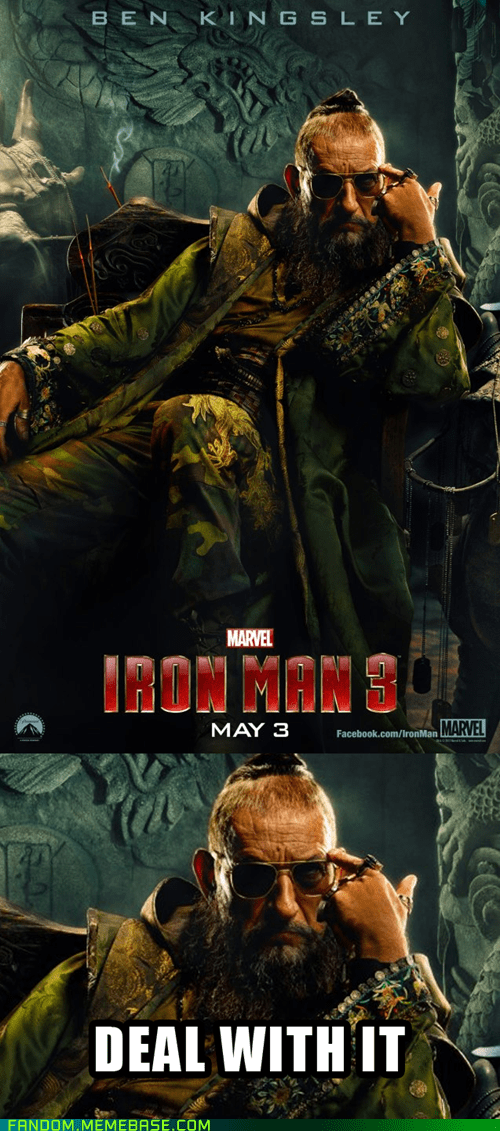 Deal With It Ben Kingsley iron man 3 - 7086332160