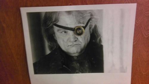 door Harry Potter mad eye moody nerdgasm g rated win