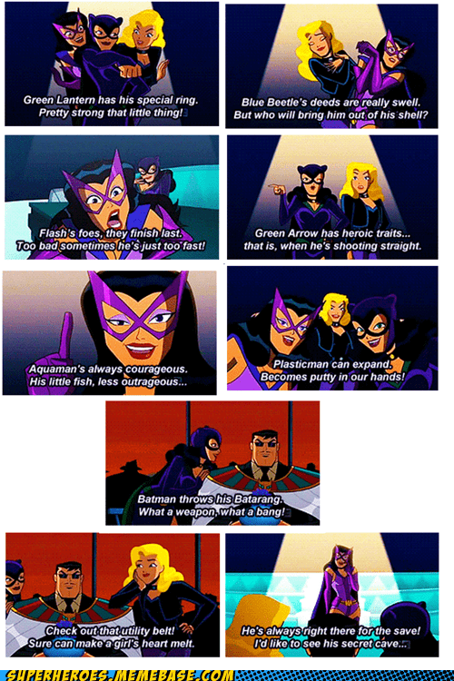 Birds of Prey,cartoons,catwoman