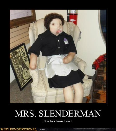 Terrifying wife slenderman - 7087697408