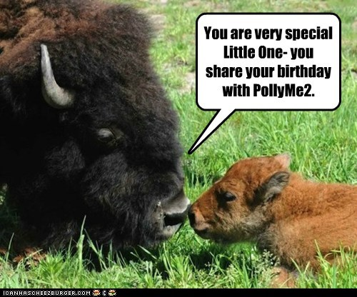 Cleverness Here You are very special Little One- you share your birthday with PollyMe2.
