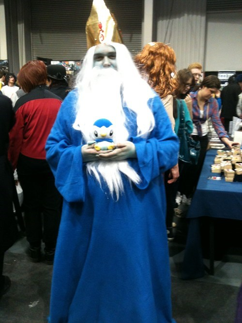 cosplay piplup cartoons ice king adventure time - 7088075520
