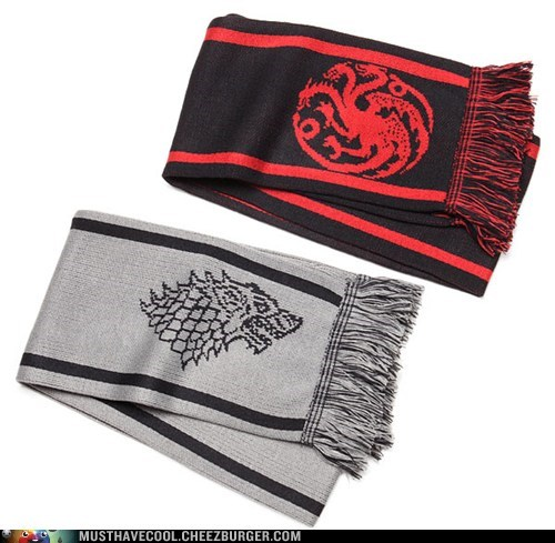 Game of Thrones house sigils scarves - 7088232960