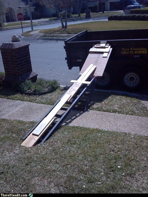 wheelbarrow ramp texas tree trimming - 7088319488