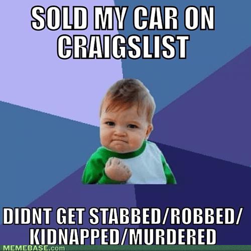 craigslist cars success kid - 7088465152