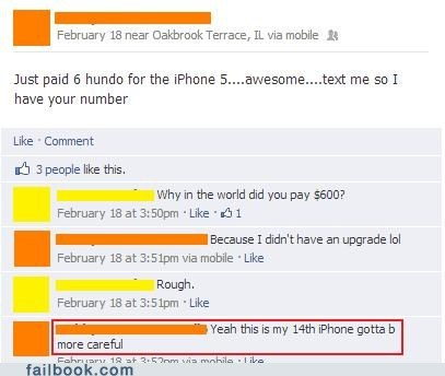 First World Problems rich people iphone