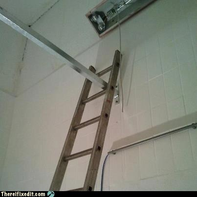 ladder,impossible
