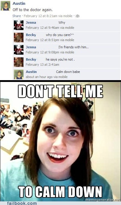 oag,overly attached girlfriend,failbook,g rated