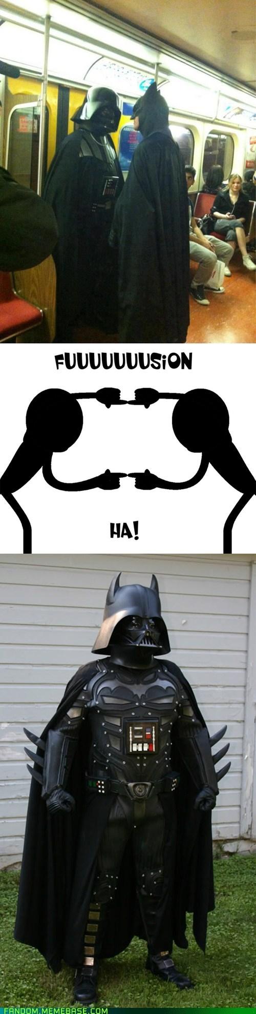 fusion crossover cosplay batman darth vader - 7089282304