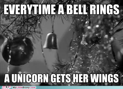 unicorn alicorn its-a-wonderful-life quote - 7089991424