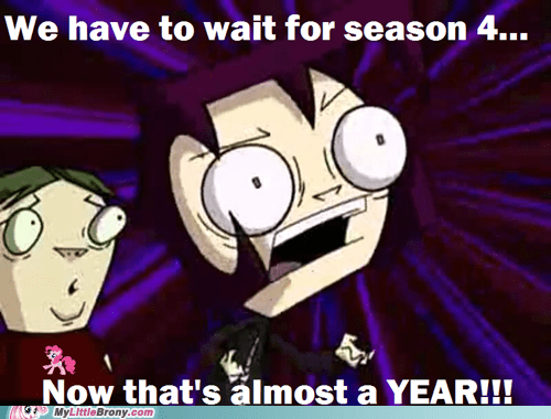 season 3 Invader Zim waiting for season 4 - 7090000640