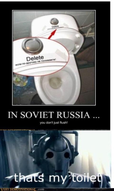 delete cybermen doctor who toilet - 7090955520