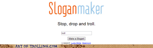 stop drop and roll fire sloganmaker