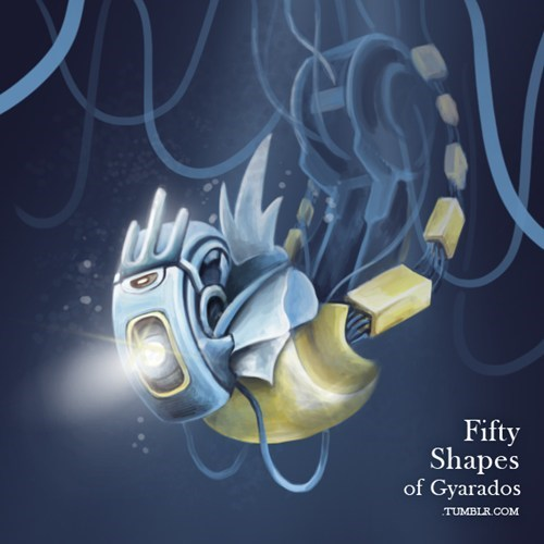 gyarados,mashup,Portal,fifty shades of gray