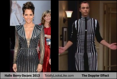 doppler effect big bang theory halle berry TLL - 7091386112
